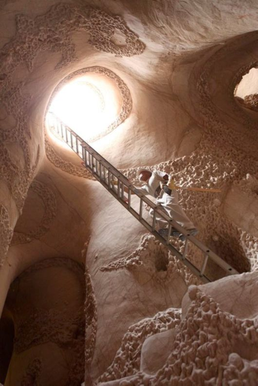 Unique Man-Made Caves In New Mexico
