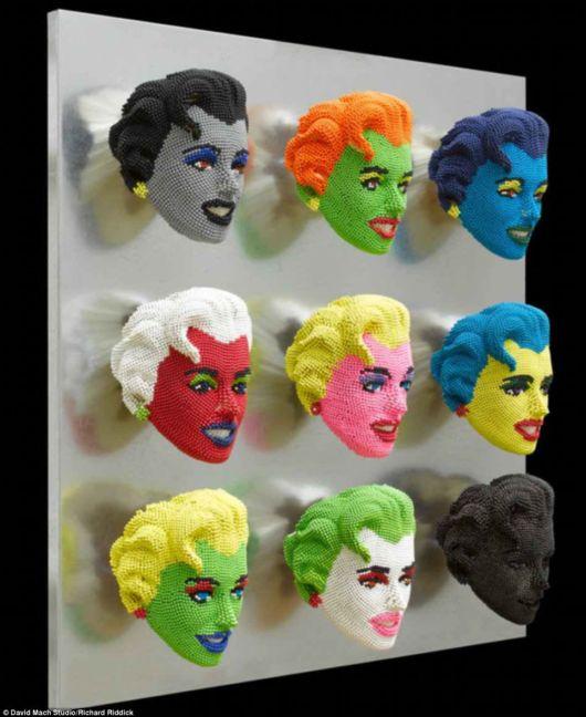 Creative Sculptures Made From Matchstick Heads