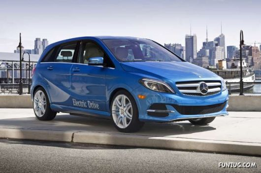 Mercedes Benz B-Class At NY Auto Show