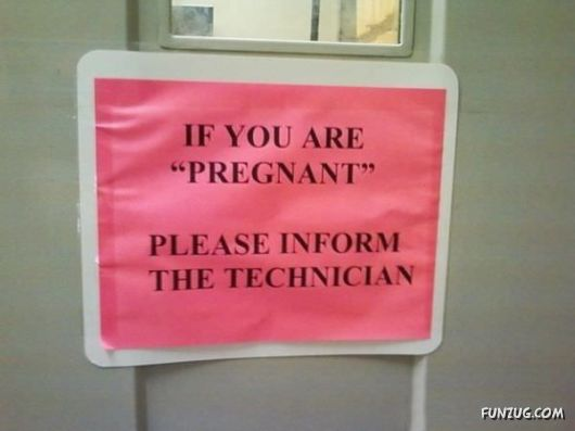 Ordinary Signs Look Suspicious Bcoz Of Quotation Marks