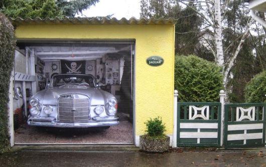 Amazing 3D Garage Door Stickers