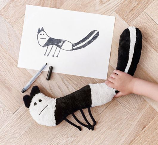 IKEA Turned Children's Drawings Into Real Plush Toys For Charity