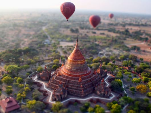 Tilt-Shift Photography Turned The World Into A Miniature Model
