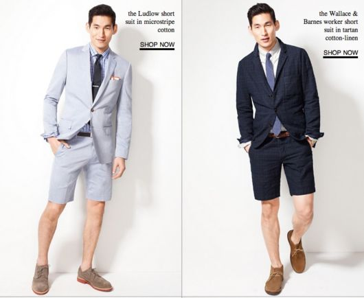 The Short Suit Is Finally Going Mainstream
