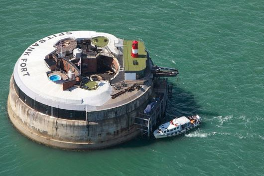 Spitbank Fort Luxury Hotel In England