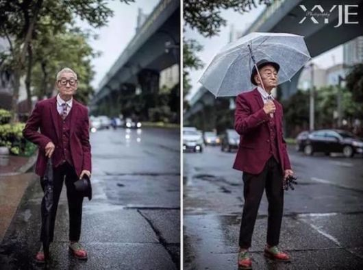 Makeover Of 85-Year-Old Farmer Transformed Him Into Fashion Icon