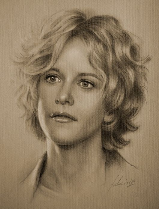 Hollywood Stars In Fantastic Sketches