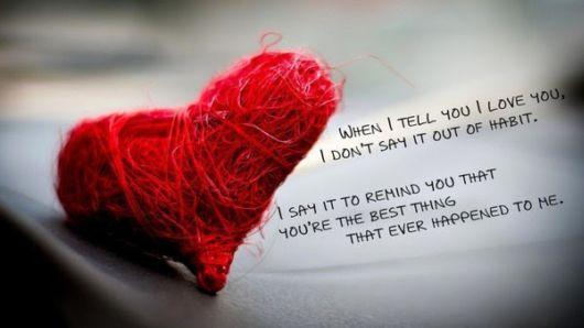 Love Is A Promise, Love Is A Souvenir