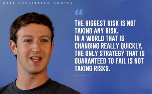 Motivational Quotes By Mark Zuckerberg