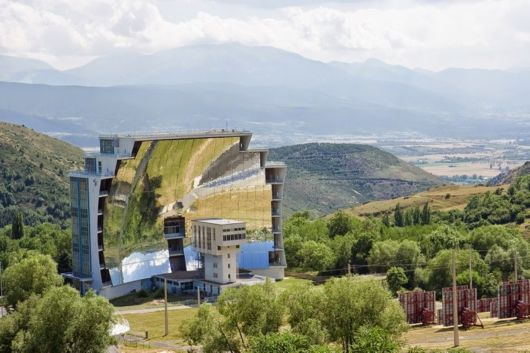 The Largest Solar Furnace In France
