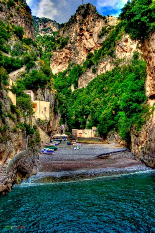 Living In Furore, Italy