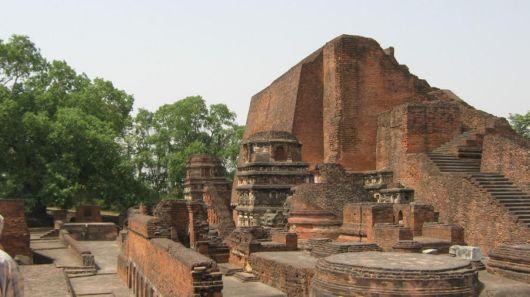 The Nalanda University Ruins, Bihar (India)