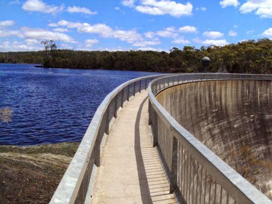 Barossa Reservoir Whispering Wall In Australia