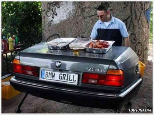 Funny Barbecue To A New Level