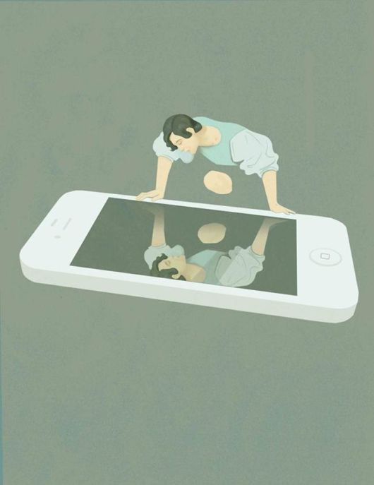 25 Illustrations Show Us Sad Truths Of Modern Life
