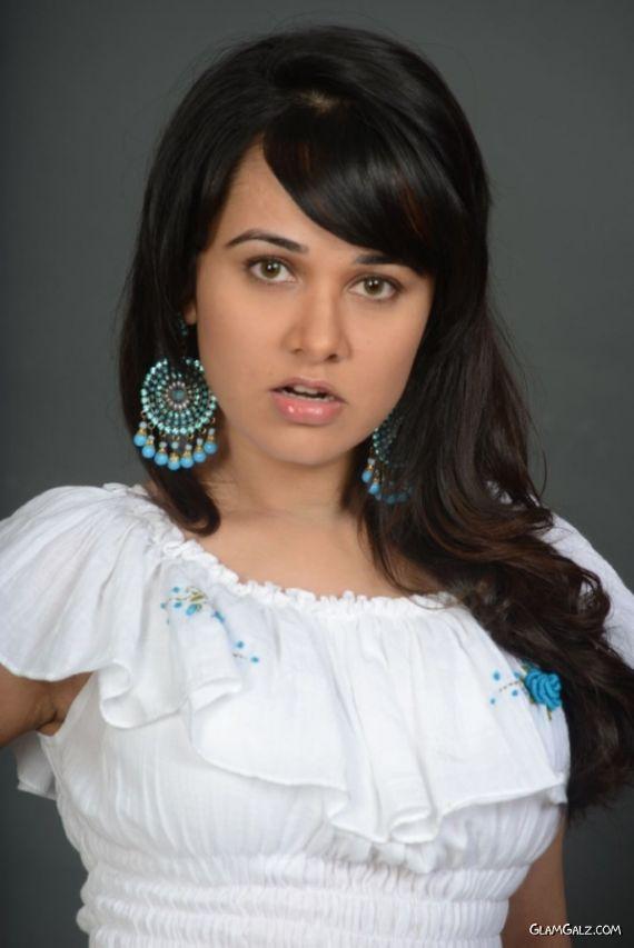 Nisha Kothari Looks Pretty In White