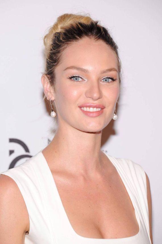 Beautiful Candice Swanepoel At Novak Djokovic Foundation Event