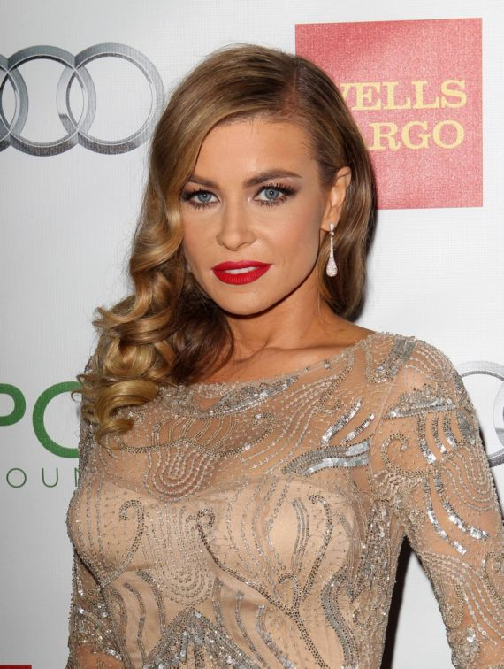 Carmen Electra At Voices On Point Musical Event