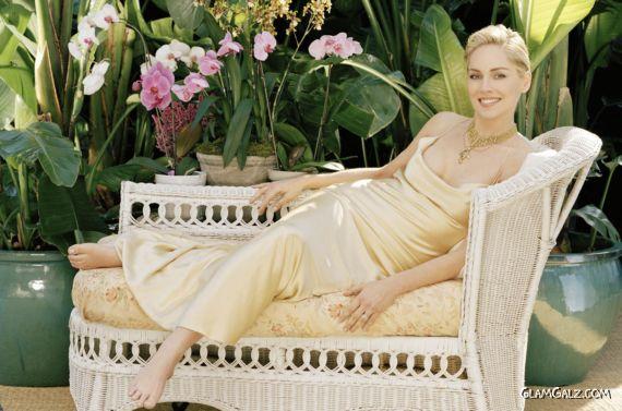 Gorgeous American Actress Sharon Stone