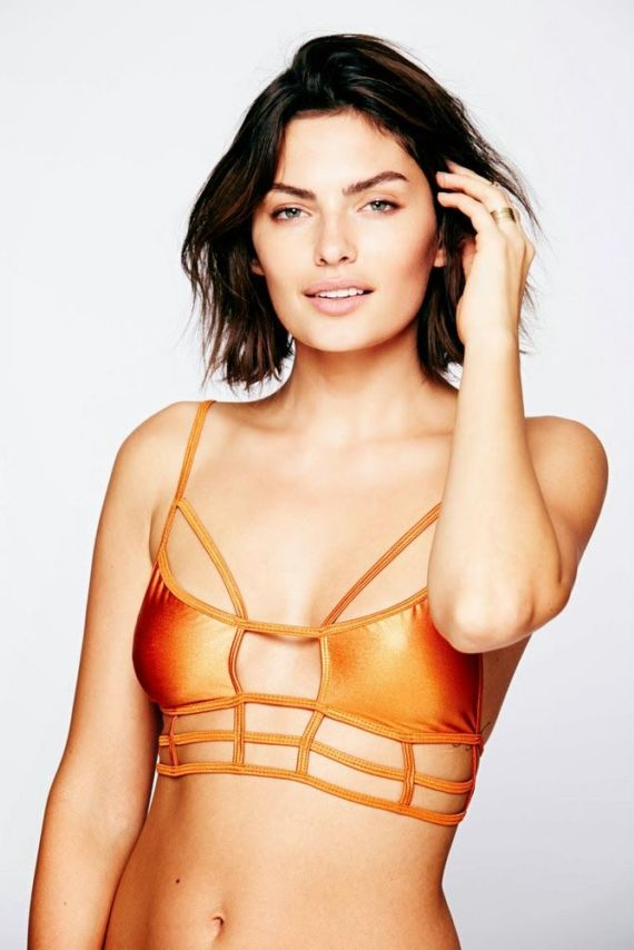 Alyssa Miller For The Free People Collection