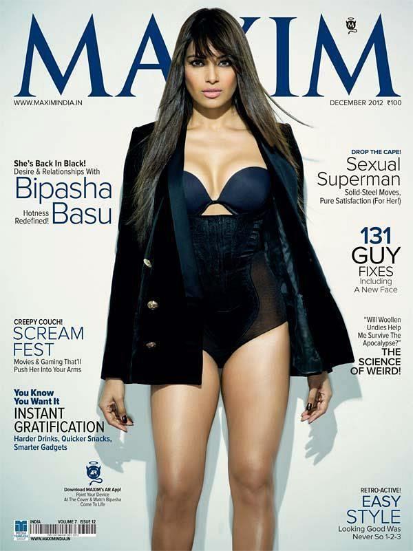 Bipasha Basu Heating Up Maxim Pages